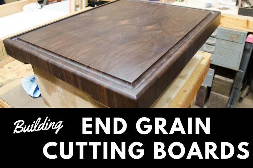 how to make an end grain butcher block cutting board